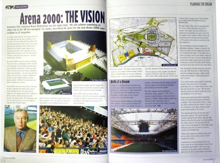 Original vision for Arena 2000. Blimey. (Courtesy of The Football Attic: http://thefootballattic.blogspot.co.uk/2013/01/things-that-dreams-are-made-of-arena.html)