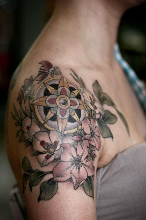 25 best ideas about shoulder cap tattoo on pinterest botanical tattoo watercolor tattoo. Black Bedroom Furniture Sets. Home Design Ideas