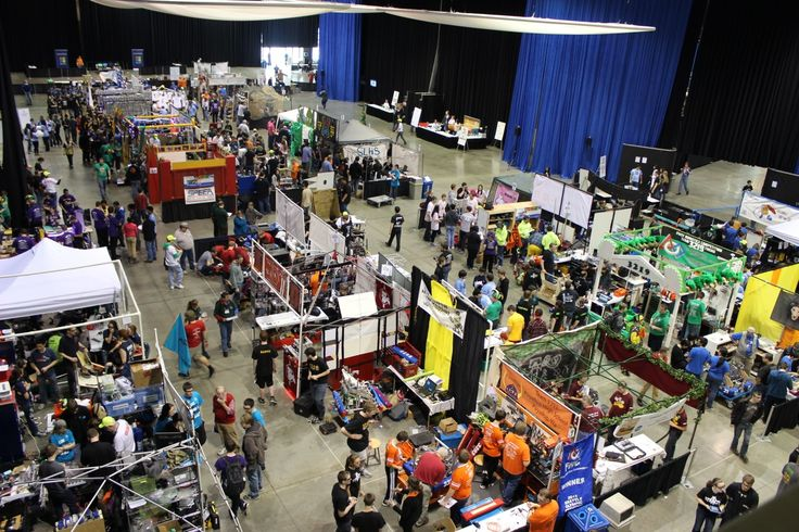 Fabric Exhibition Stand Quotes : Best first robotics pits design images on pinterest