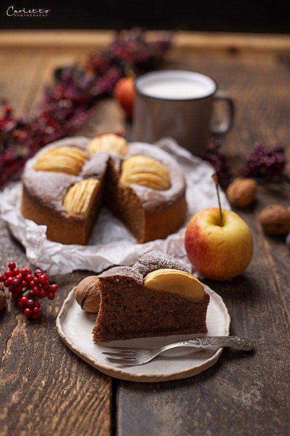 Veganer Apfelkuchen Rezept Goldener Blogger Herbst