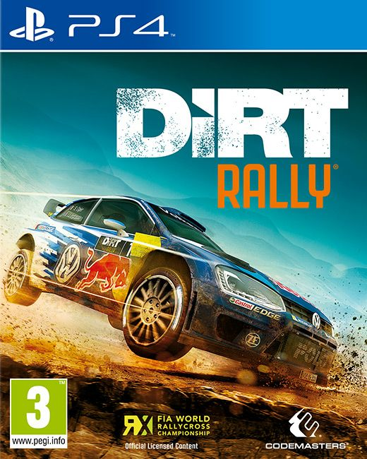 DiRT Rally Built by Codemasters and road tested over 60 million miles by the DiRT community, DiRT Rally is the ultimate rally experience. Publisher: KOCH Media Developer: Codemasters Genre: Racing Platform: PC, PS4, Xbox1 Release Date: 05/04/2016 #videogames #racing #PS3 #Rally #WRC