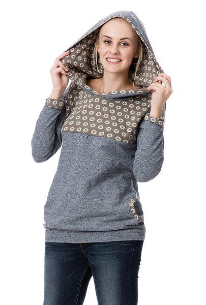 Oberteile & Kleider - Umstandspullover Stillpullover CONVERSA - ein Designerstück von GoFuture bei DaWanda