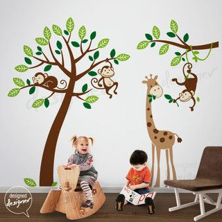 kids wall decoration - tropical - kids decor - other metro - by nouwall