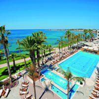 Alexander The Great Beach Hotel 4-star hotel This property has agreed to be part of our Preferred Property programme which groups together properties that stand out thanks to their excellent service and quality/price ratio with competitive prices. Participation in the programme requires meeting a specific set of criteria and takes into account feedback from previous guests. Paphos City (0.4 miles from Amphora Hotel & Suites) Featuring a seafront location 150 metre