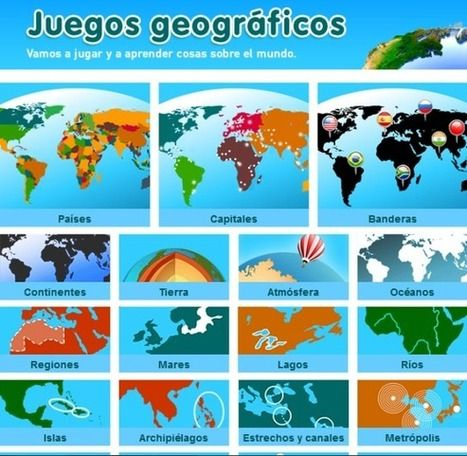 Sensacionales Juegos Interactivos párr Estudiar Geografía | TICs párr Docencia y Aprendizaje | Scoop.it