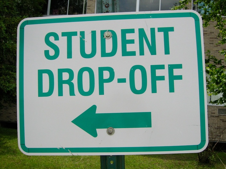 Student Drop-Off zone in New York.
