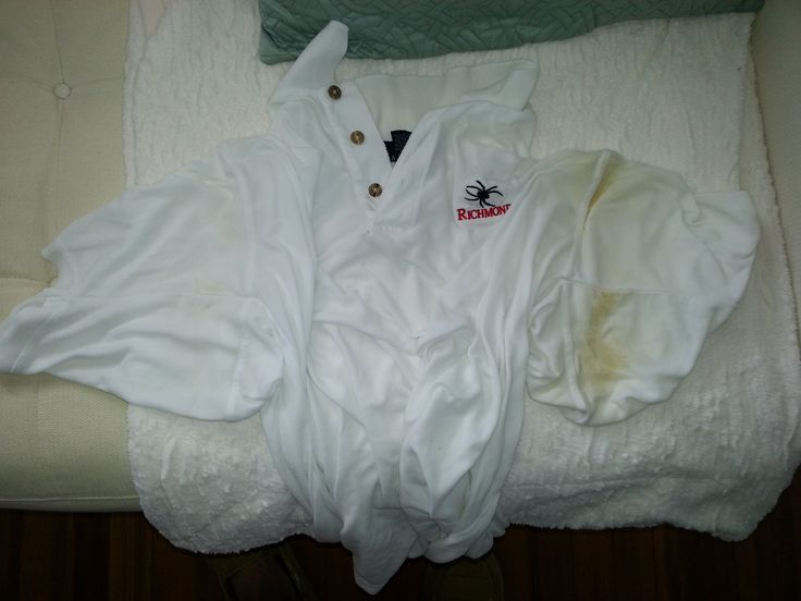 1000 ideas about sweat stains on pinterest remove sweat for How to get armpit stains out of white shirts
