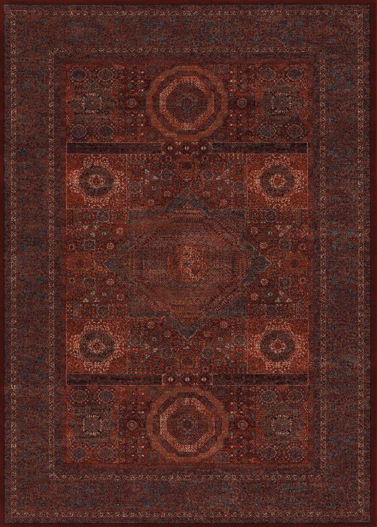 Old World Classics Burgundy Rug