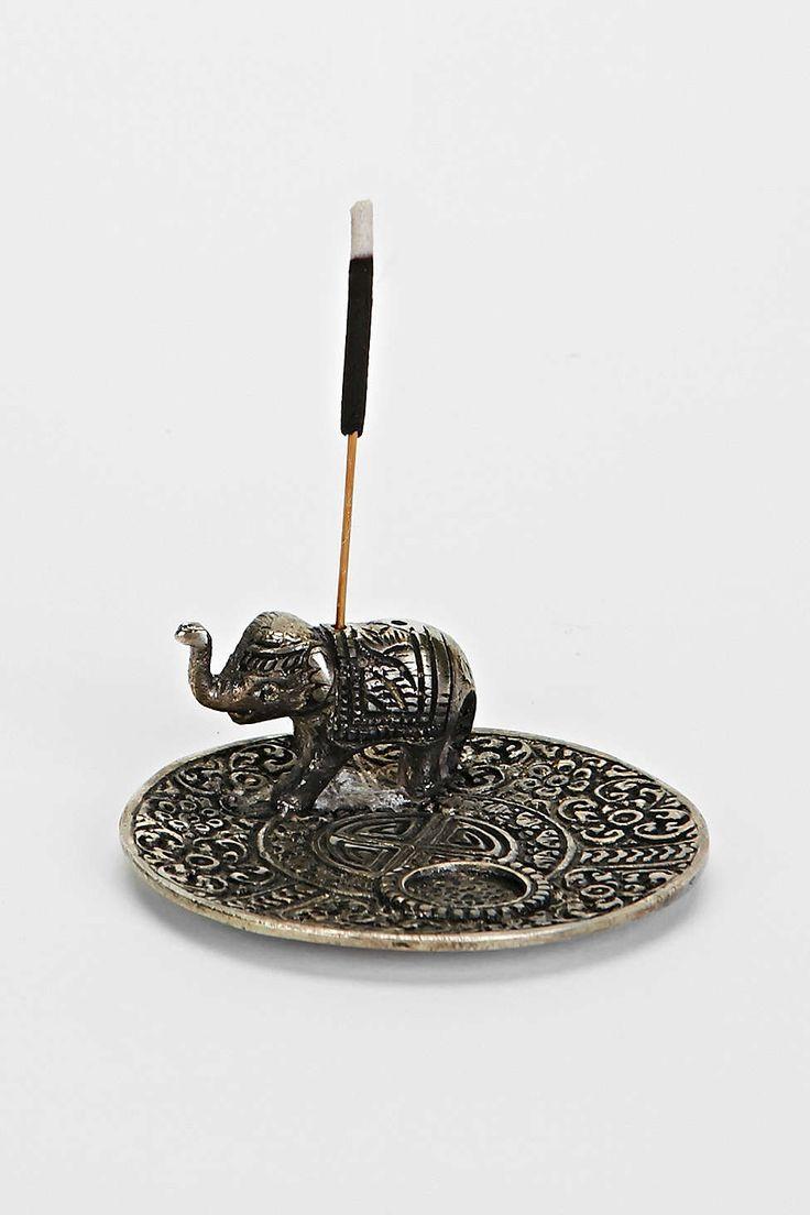 Metal Elephant Incense Holder