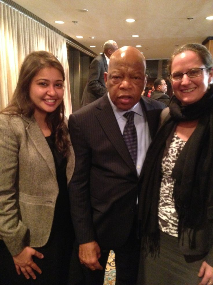 It was a good day! Our staff with civil rights icon, Rep. John Lewis at a #vra4today conference. Learn more at www.vrafortoday.org.