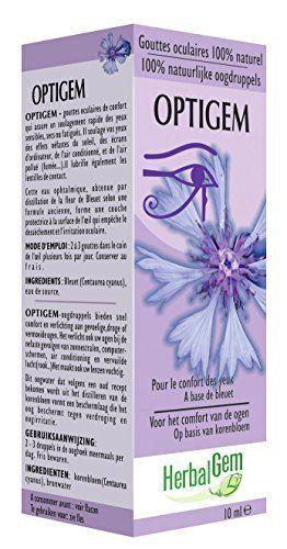 Optigem collyre: Collyre de confort qui assure un soulagement rapide des yeux sensibles, secs ou fatigués. Soulage vos yeux des effets…