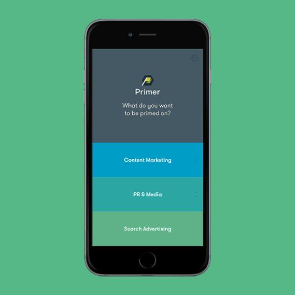 Primer App on Behance