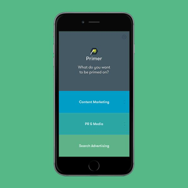 Primer App User Interface Design | Motion Graphics and Animation in UI Design