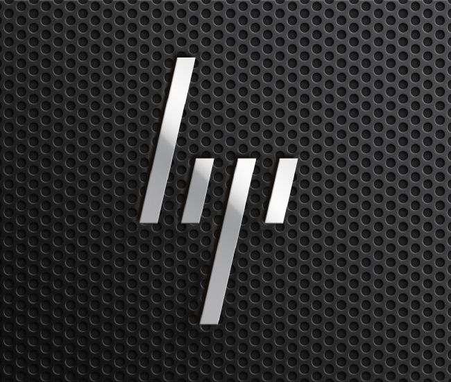 New minimal HP logo by Moving Brands