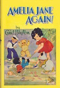 Amelia Jane Again! by Enid Blyton 1969 Dean, illustrations and cover by Rene Cloke