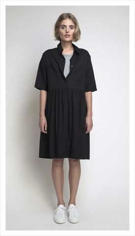 camille shirt dress (washed cotton)