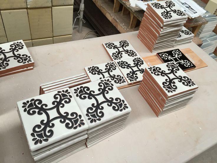 Azulejos en colores matte | recubrimiento 100% artesanal #hechoamano #hechoenMéxico #handcrafted #madeinMexico #tilelover
