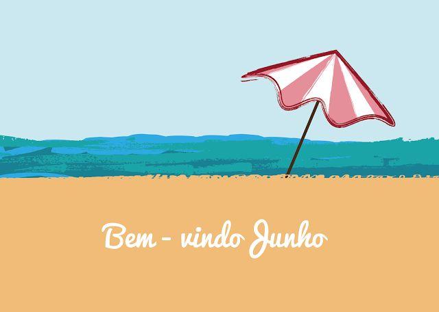 marta ribeiro: Welcome June Wallpaper