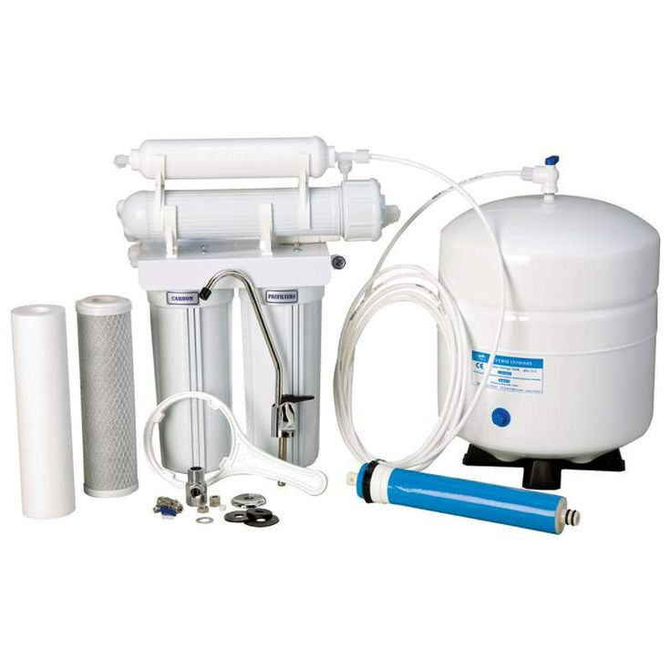 Reverse Osmosis Water Filter System Never buy bottled water again! Enjoy the purest home-filtered water available for pennies per day. Our high quality Reverse Osmosis system with the 6 STAGE process