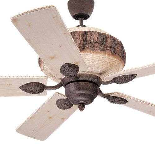 Rustic Ceiling Fan For The Rustic Cabin Pinterest