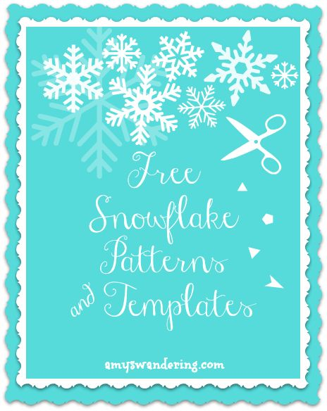 Free Snowflake Patterns and Templates