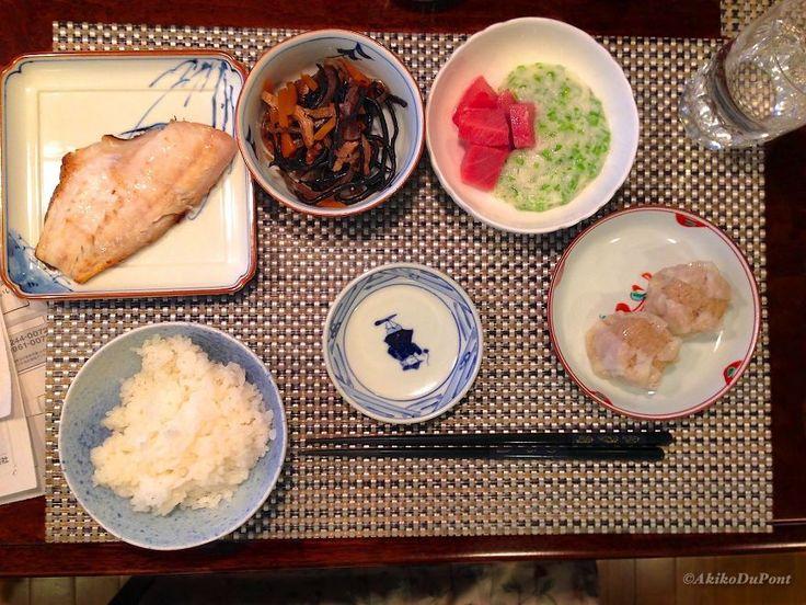 Itadakimasu: Jiji's Dinner - 94 year old Japanese man - the secret to longevity!
