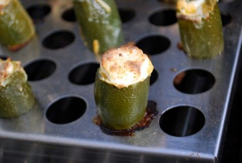 Grilled stuffed Jalapenos - SavoryReviews