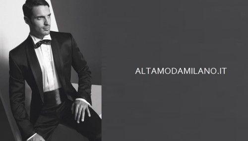 Lo smoking per l'abito da cerimonia uomo elegante 2013-2014 STILE sposo made in ALTAMODAMILANO.IT | Sì lo voglio è MIO