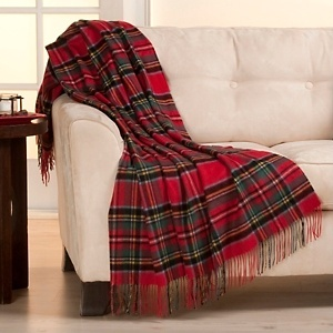 A simple way to add tartan decor to your space!