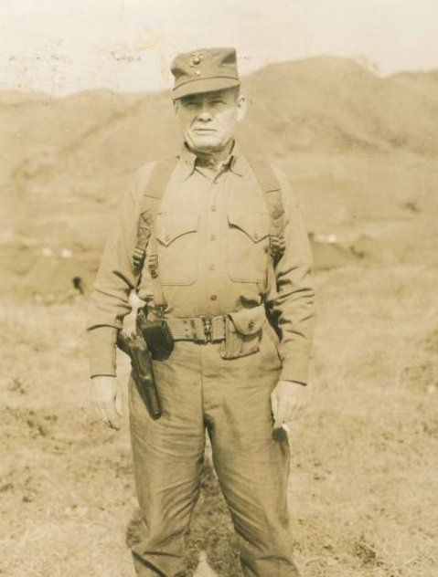 """General Chesty Puller: """"They are in front of us, behind us, and we are flanked on both sides by an enemy that outnumbers us 29:1. They can't get away from us now!"""" """"Great. Now we can shoot at those bastards from every direction."""""""