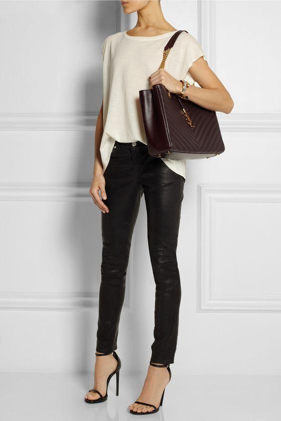 Look! Черные брюки! 5