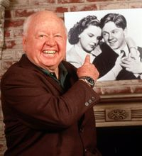 Hollywood legend Mickey Rooney, who died Sunday at age 93, shared a lifelong friendship with Judy Garland -- and, it seemed, with all of the...