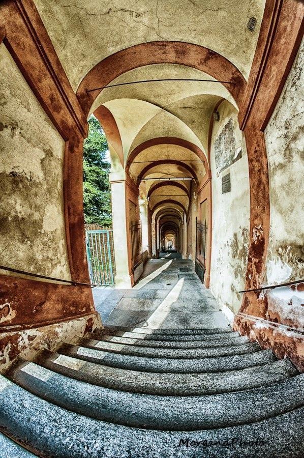 Bologna, scendendo da San Luca, Morgana Photo