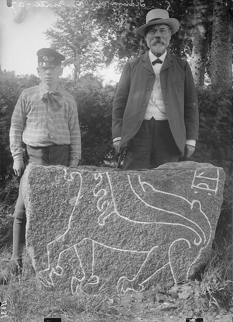 Rune stone, Kärna, Östergötland, Sweden by Swedish National Heritage Board, via Flickr