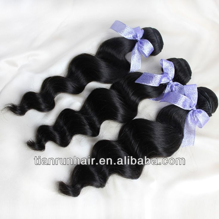 raw virgin unprocessed brazilian loose deep wave human hair weave extension online sale