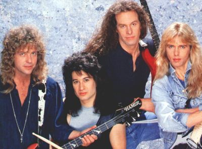 Damn Yankees....Tommy Shaw of Styx, Jack Blades of Night Ranger, Ted Nugent of The Amboy Dukes and a successful solo career, and Michael Cartellone.