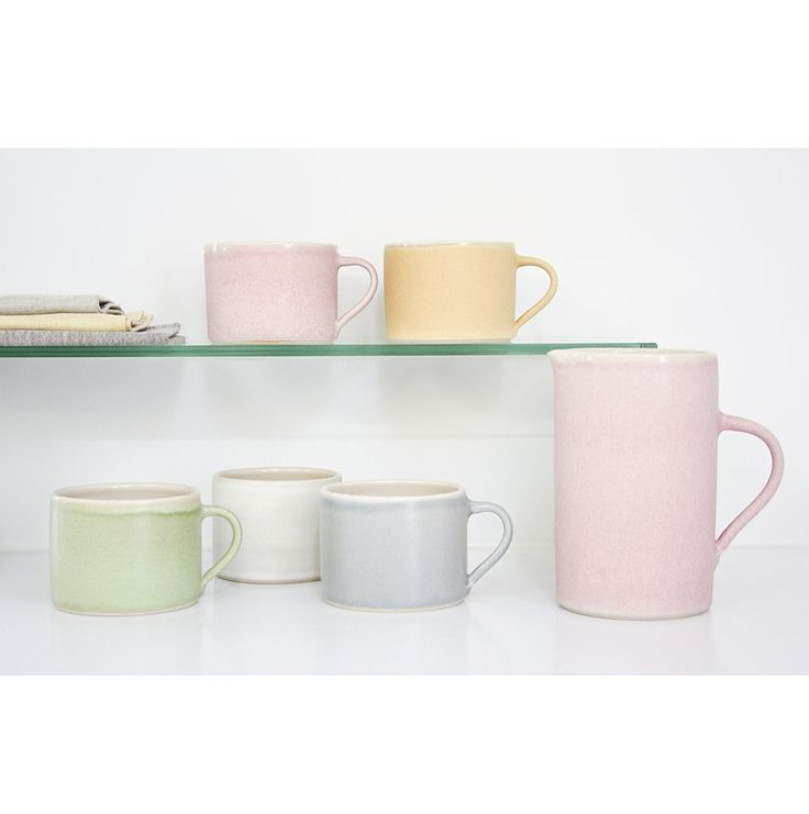 £14 (£26 for Pink) Tilda Mugs by Sue Ure Ceramics   Kitchenware & Decor   Quince Living