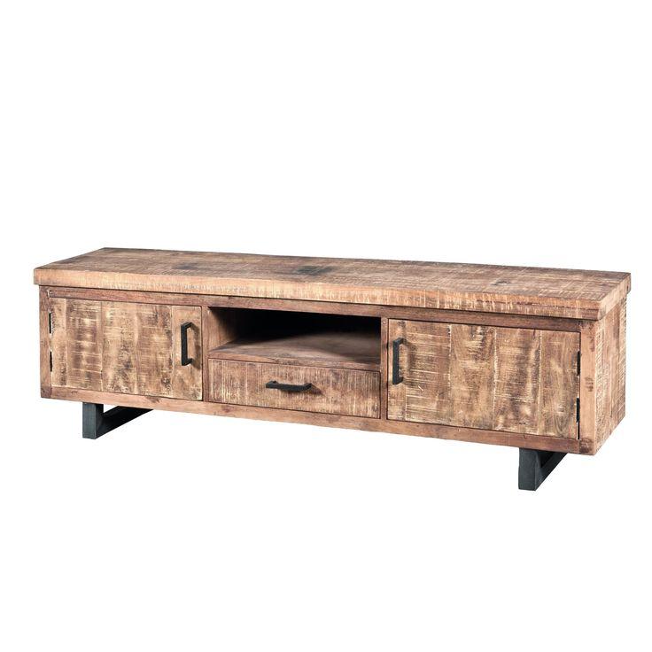 Tv-meubel Plasmameubel 2 Deurs 1 Lade