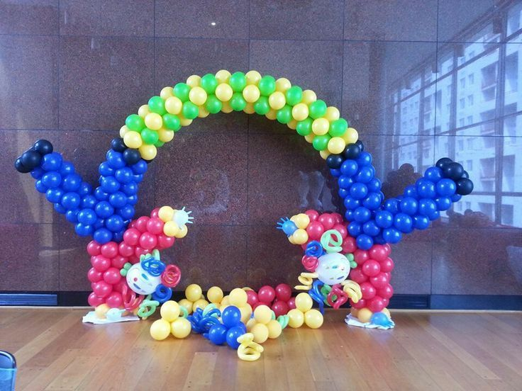 Best circus images on pinterest balloon decorations