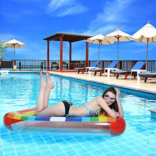 #beachaccessoriesstore Pool Float Inflatable Pineapple Pool Float Raft for Adults Kids: beachaccessoriesstore are… #beachaccessoriesstore