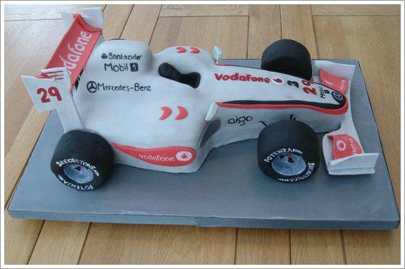 lewis hamilton racing car cake - Google Search