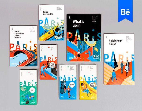 Consultez ce projet @Behance: \u201cParis convention & visitors bureau 2017\u201d https://www.behance.net/gallery/51146789/Paris-convention-visitors-bureau-2017