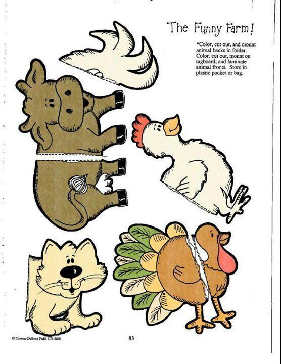 The funny farm file folder game 5/6
