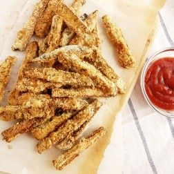 Baked Eggplant Fries with Rosemary and Thyme   Paleo Grubs