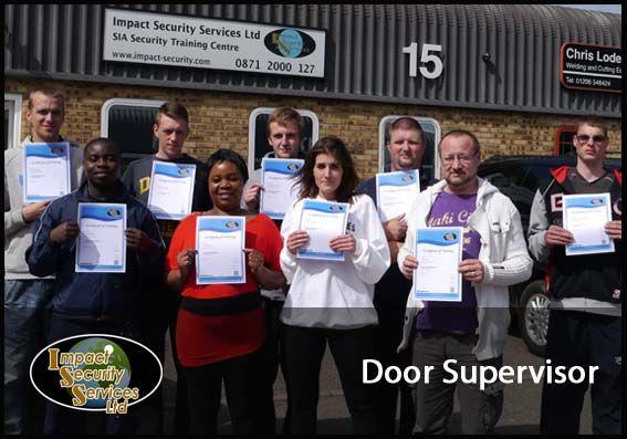 Door supervisor training training courses pinterest for Door supervisor
