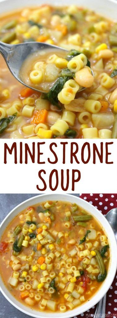 came out perfect! will make again! CLASSIC MINESTRONE SOUP   #soup #souprecipe #italian #italianfood #dinner