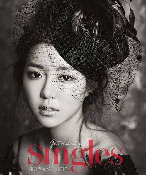 박한별 InStyle 한국 & Singles, 2012년 7월 (Park Han-Byul in InStyle Korea & Singles, July 2012)