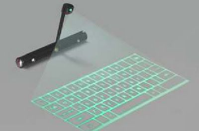 hologram keyboard
