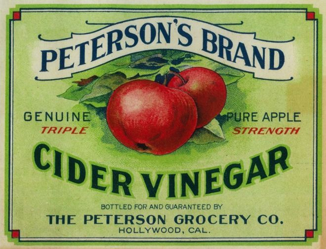 Peterson's Cider Vinegar Label