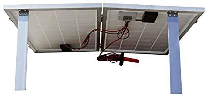 Amazon com : ECO-WORTHY 40W 12V Solar Charger Kits Portable